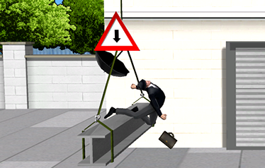 Screenshot 6: The girder flop